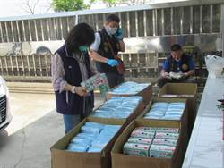 紙箱廠囤口罩不良品販售謀利  衛生局抽樣送檢