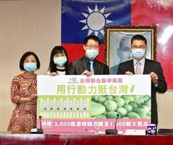有洋蔥!徐國勇號召集資買罹癌單親瓜農千顆西瓜