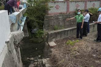 大安南北七路淹水40年 民代會勘力促分流解水患