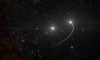 離地球最近黑洞 僅距離1000光年
