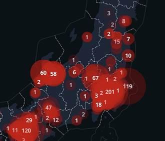日本有17縣1週零確診 可望解除緊急狀態