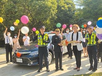 聯聚回饋社會 再捐警車及配備