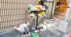 北市人行道垃圾桶 為何從3千撤到剩1千?