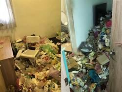 惡房客欠租走人驚見「垃圾山」 百萬裝潢成廢墟