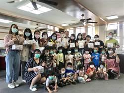 在地企業回饋偏鄉 大湖學童獲贈防疫口罩