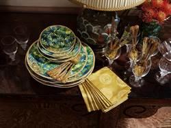 Versace從服裝設計汲取靈感 將叢林印花帶入餐瓷美學