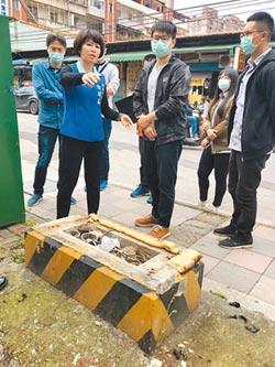 汐止金龍社區人行道 將整修