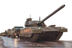 俄踢鐵板 T-14坦克遭拖式摧毀