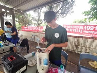 台南高工電機科學生學以致用 左鎮偏鄉電器義診