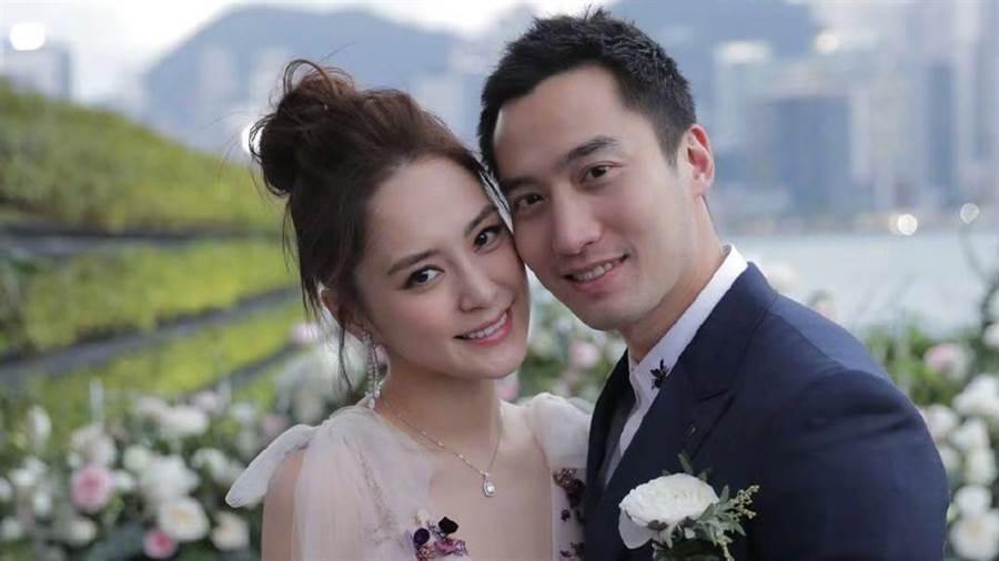 阿嬌和賴弘國婚姻觸礁。(圖/微博@阿嬌)