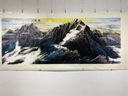 《境由心生》林清鏡水墨繪畫創作展,顛覆傳統再創新
