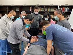 中市勞工局補助身障職訓防疫物資