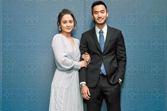 賴弘國(右)跟阿嬌本來是被看好的一對,可惜以離婚收場。(資料照片)