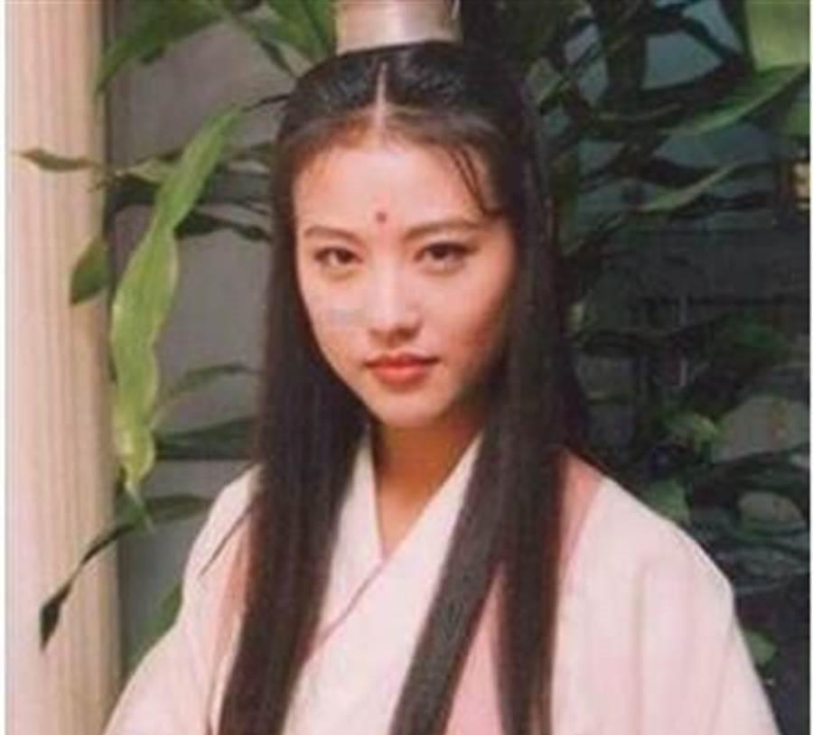 周海媚26年前被封最美周芷若。(本報系資料照)