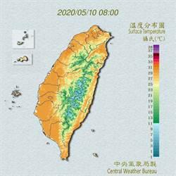 今晚鋒面報到 吳德榮:恐有劇烈天氣變化