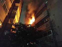 母親節前 中市大樓發火數百名住戶疏散