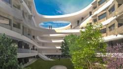 建築師姜樂靜打造竹縣「文中六」流動曲線校園