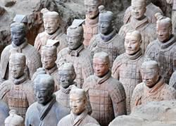 秦始皇陵神秘綠臉兵馬俑 專家也無解