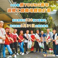 原young青年工讀 月領23800報名至5月底