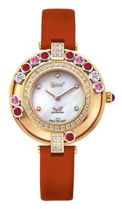 山茶花唯美上身 愛其華珠寶錶 獻給母親