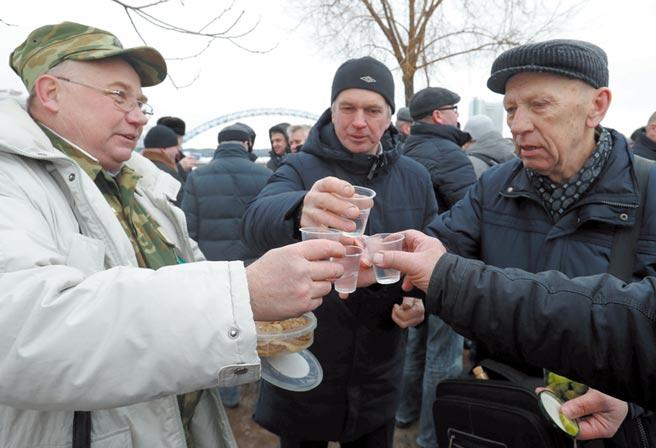 白俄羅斯防疫出奇招圖╱路透