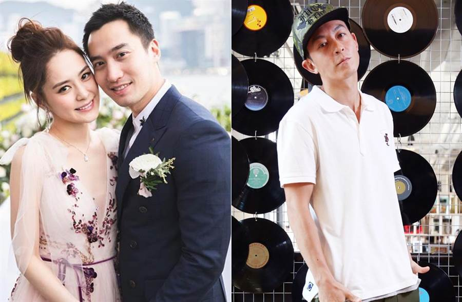 阿嬌宣布離婚同天,陳冠希疑po文發聲。(取材自賴弘國IG、中時資料照片)