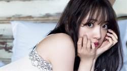 23歲清純女偶像「全身透視只穿內衣」燈一照裡面看光光