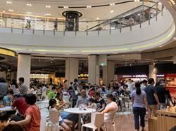 零確診!百貨人潮回流大江購物中心撒幣三千萬搶市