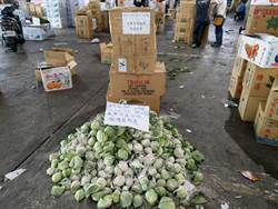 台北批發市場蔬果農藥殘留抽驗 不合格率3.04%