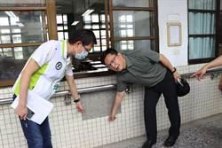 張廖萬堅爭取國教補助 改善5校廚房、廁所、教室