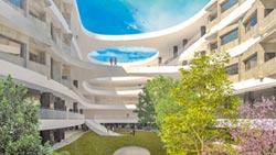 建築獎得主設計 校園流動曲線突破制式