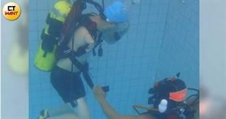 【潛進夢想3】「海豚手」缺臂想放棄 教練激:你人生就這樣?