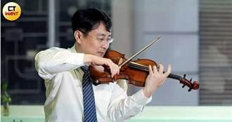王文洋轉手一把4億名琴 自創阿瑪迪教學法的張鎮洲也有一支同頂級小提琴