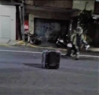 高雄馬路驚見爆裂物 警方疏散居民拆開傻眼