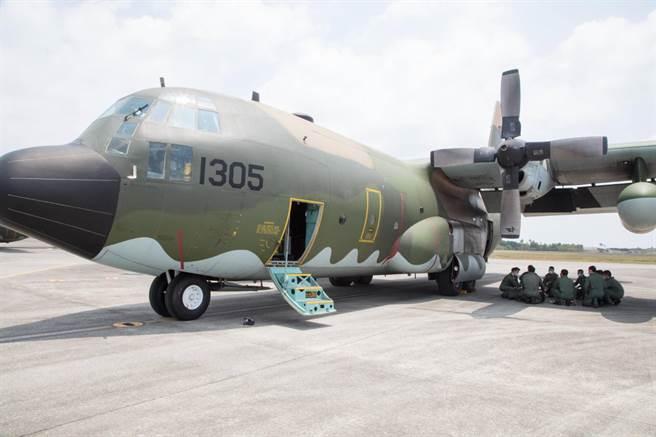 空軍C-130H運輸機。(資料照/軍聞社提供)