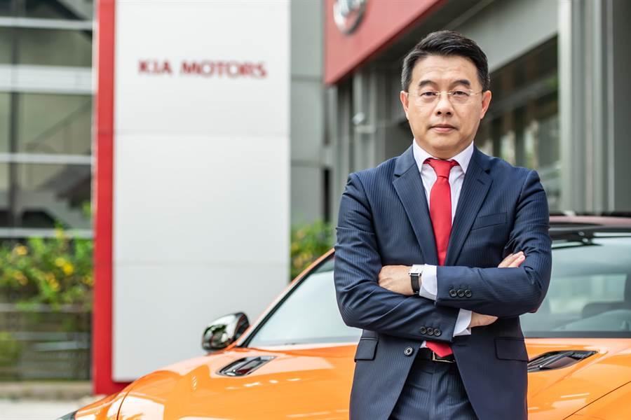 KIA總代理森那美起亞新任總裁李昌益。(KIA提供)