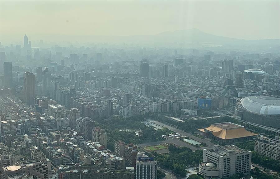 台北市空景、鳥瞰圖、房市示意圖。(圖/業者提供)