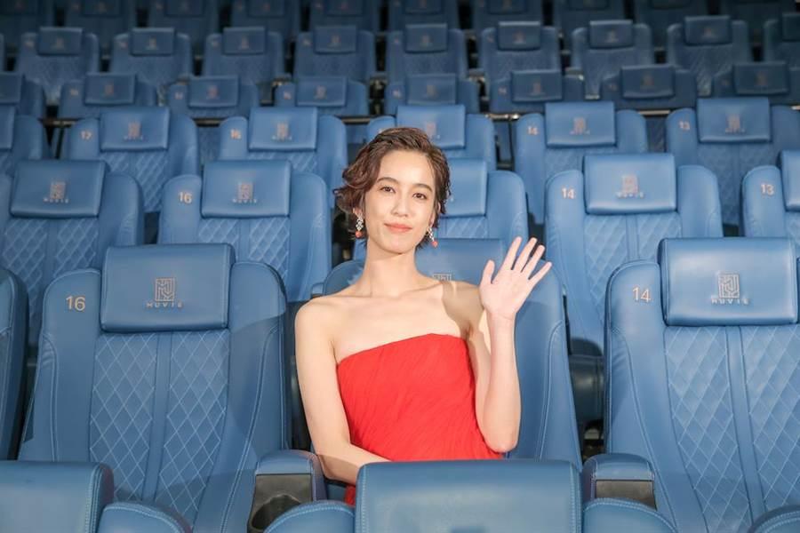 陳庭妮擔任2020台北電影節影展大使。(盧禕祺攝)