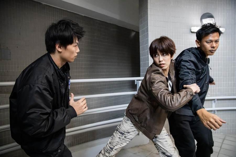 陳庭妮因形象廣告首次嘗試武打戲。(台北電影節提供)