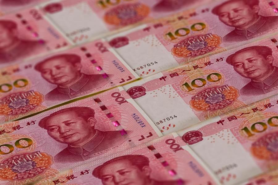 大陸第1季實體經濟槓桿率大幅攀升。(Shutterstock)