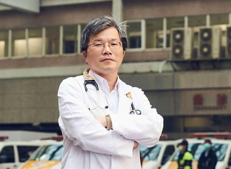 林口長庚紀念醫院兒童醫學科主治醫師吳昌騰解釋細胞激素風暴。(摘自臉書《來講兒科急診的543-吳昌騰醫師》)