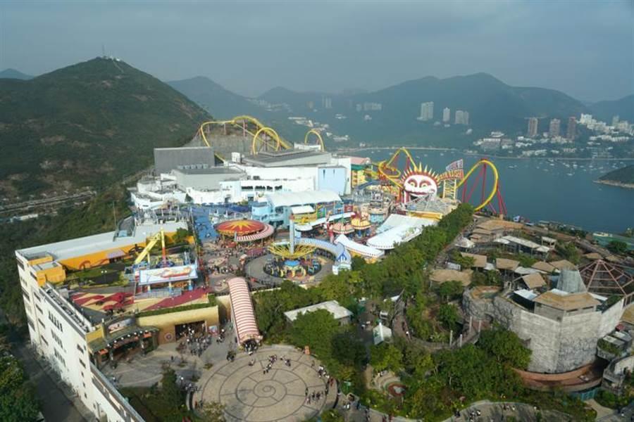 香港海洋公園。(中新社)