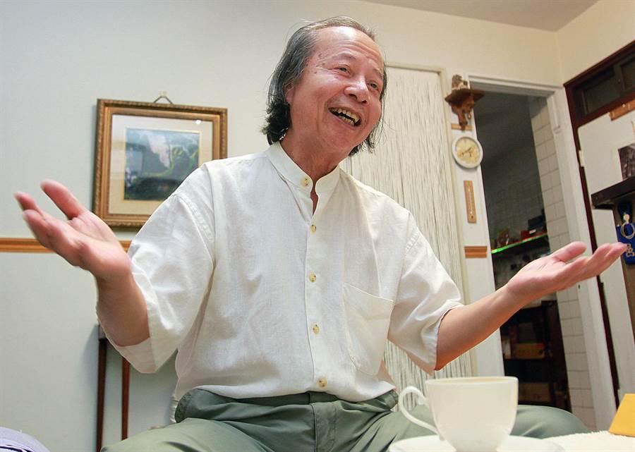 曾獲國家文藝獎的作家七等生,本名為劉武雄,自2003年宣布封筆,淡出文壇。(本報資料照片)