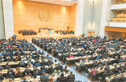 WHO:13國雖提案 秘書長譚德塞無權邀台灣參與WHA