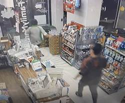 超商店員深夜遇襲 林口警聞聲緊急壓制犯嫌