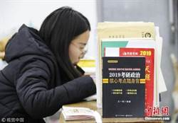 陸今年高考報名1071萬人 各省高三生均復學