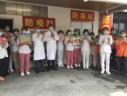 掌聲響起 奇美醫院數百人同聲鼓掌慶祝國際護師節