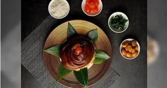 華粽取寵!三大廚神比食材拚創意 豬腳、烤鴨、鮑魚都入粽