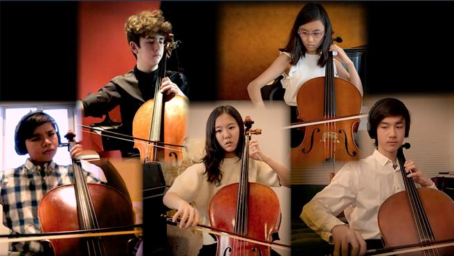 「和平之音—感恩大地之母音樂會」由美國紐約的高中學生擔綱演出。(圖由靈鷲山