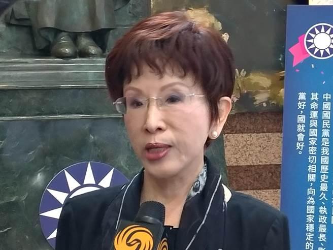 洪秀柱籲投票反罷韓 國民黨:避免大型聚會